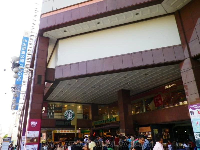chung yo department store taichung city