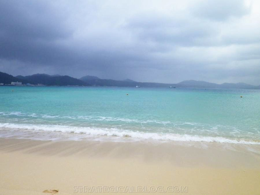 Nago Beautiful Beach Okinawa Japan