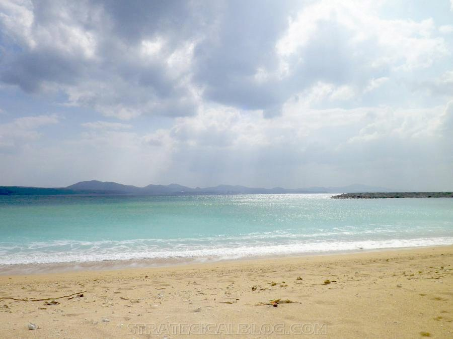 Nago Crystal Blue Water Beach Okinawa Japan (1)