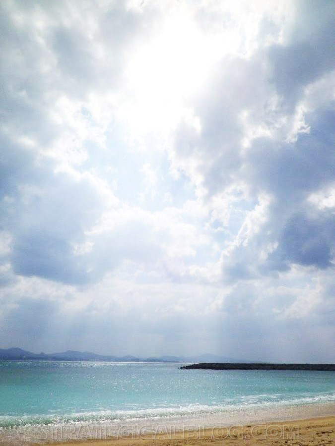 Nago Crystal Blue Water Beach Okinawa Japan (3)