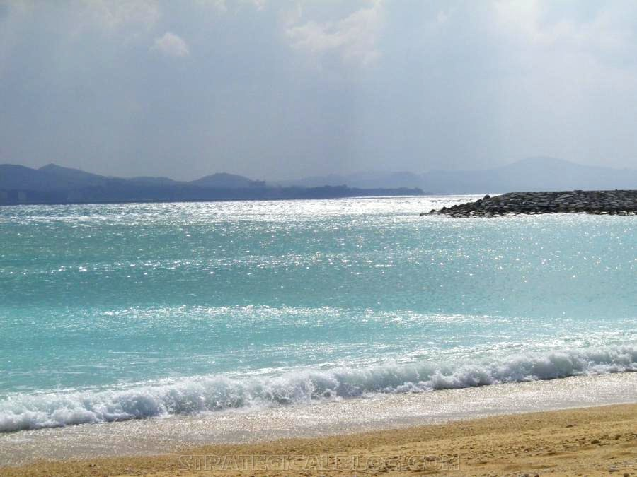 Nago Crystal Blue Water Beach Okinawa Japan (4)