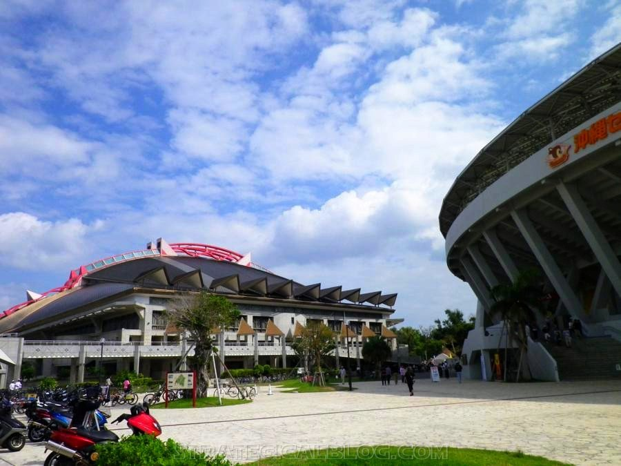 Naha Okinawa Japan stadium 2