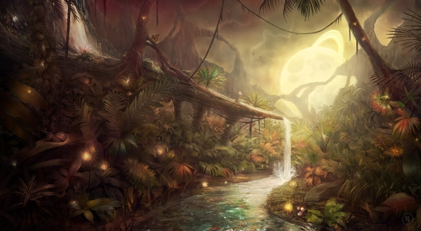 jungle avatar fantasy art pandora digital art 3000x1650 wallpaper_wallpaperswa.com_9