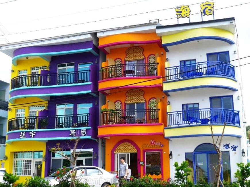 Kenting colorful houses (2)