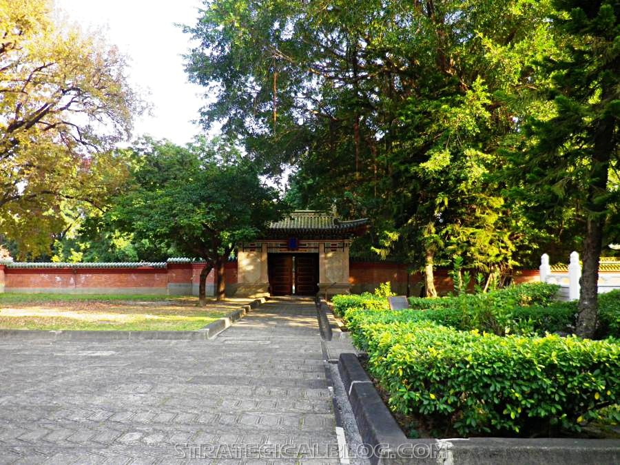 ConfuciusTemple Martyr's Shrine - Taichung pavillon jardin