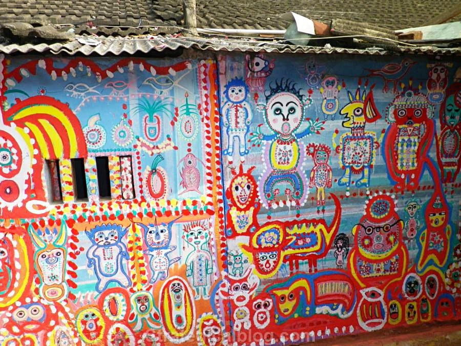 over the rainbow village taichung