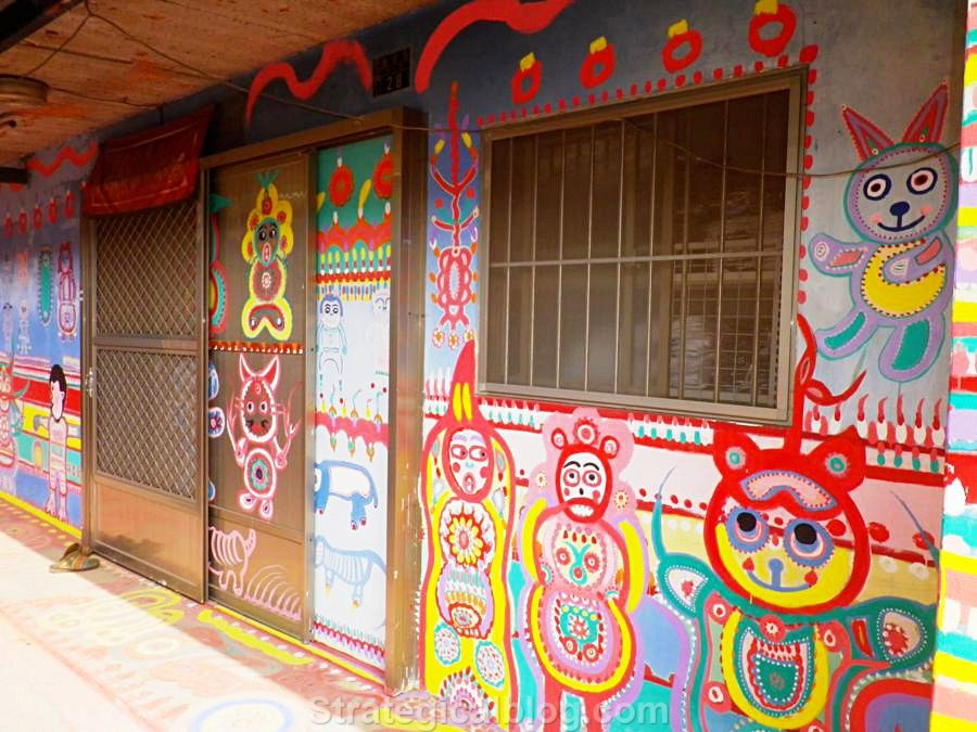 taichung rainbow village (4)