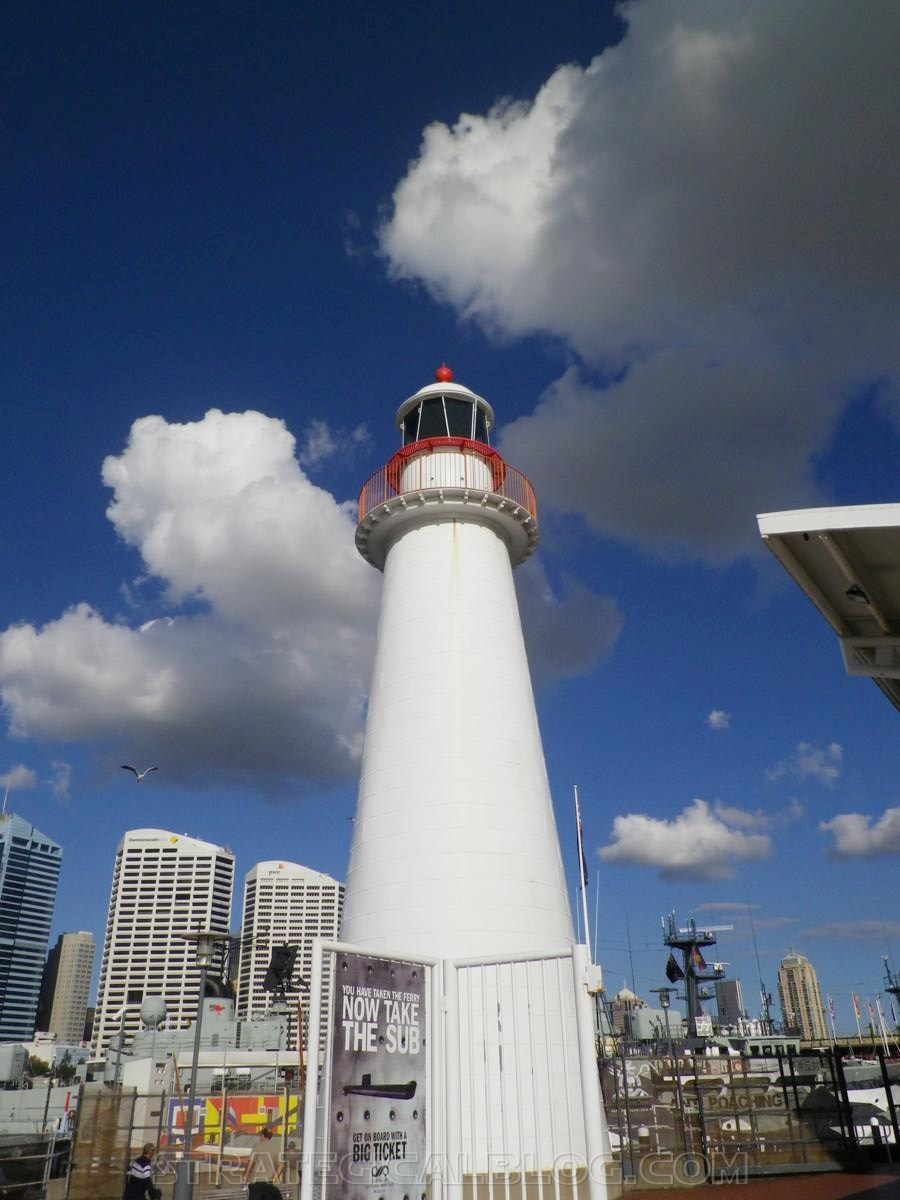 Sydney Harbor light house
