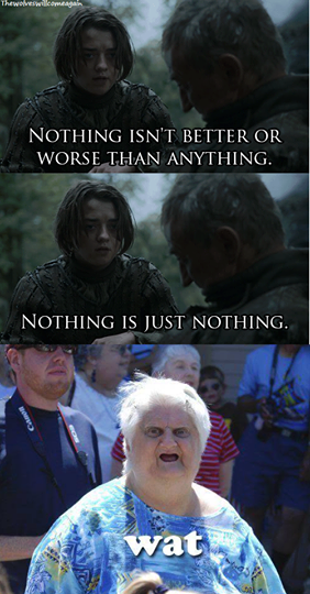 arya nothing