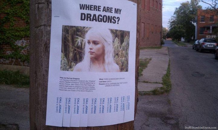 game of thrones funny memes dragon lost