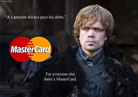 game of thrones funny memes lannister debts