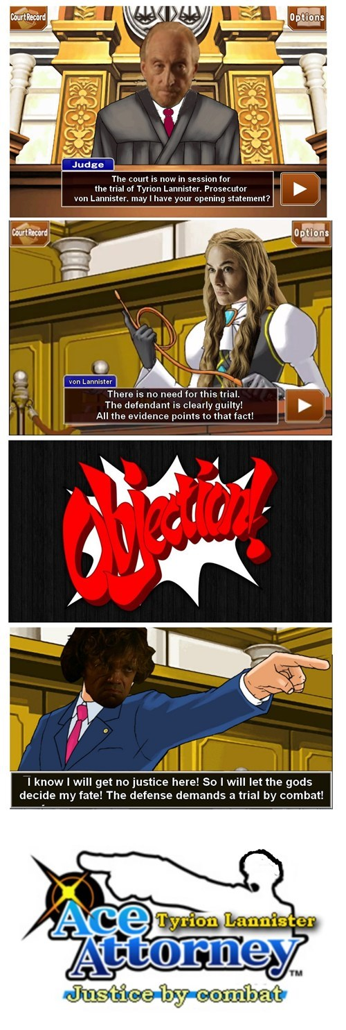 game of thrones memes phoenix wright