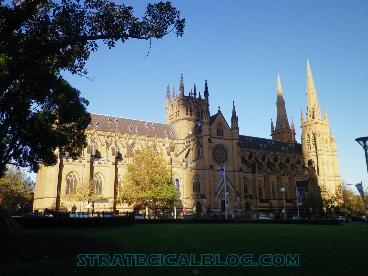 cathedral sydney old