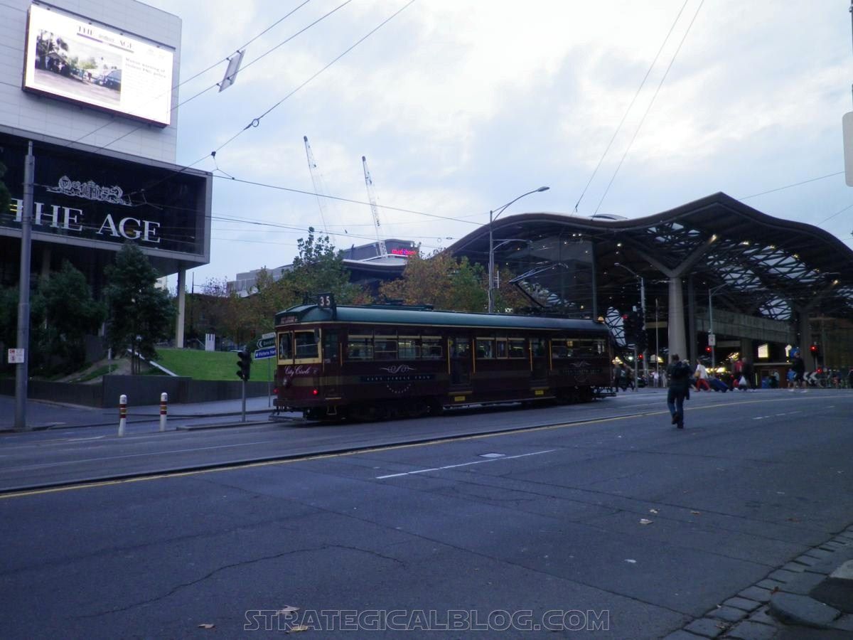 Melbourne free tramway