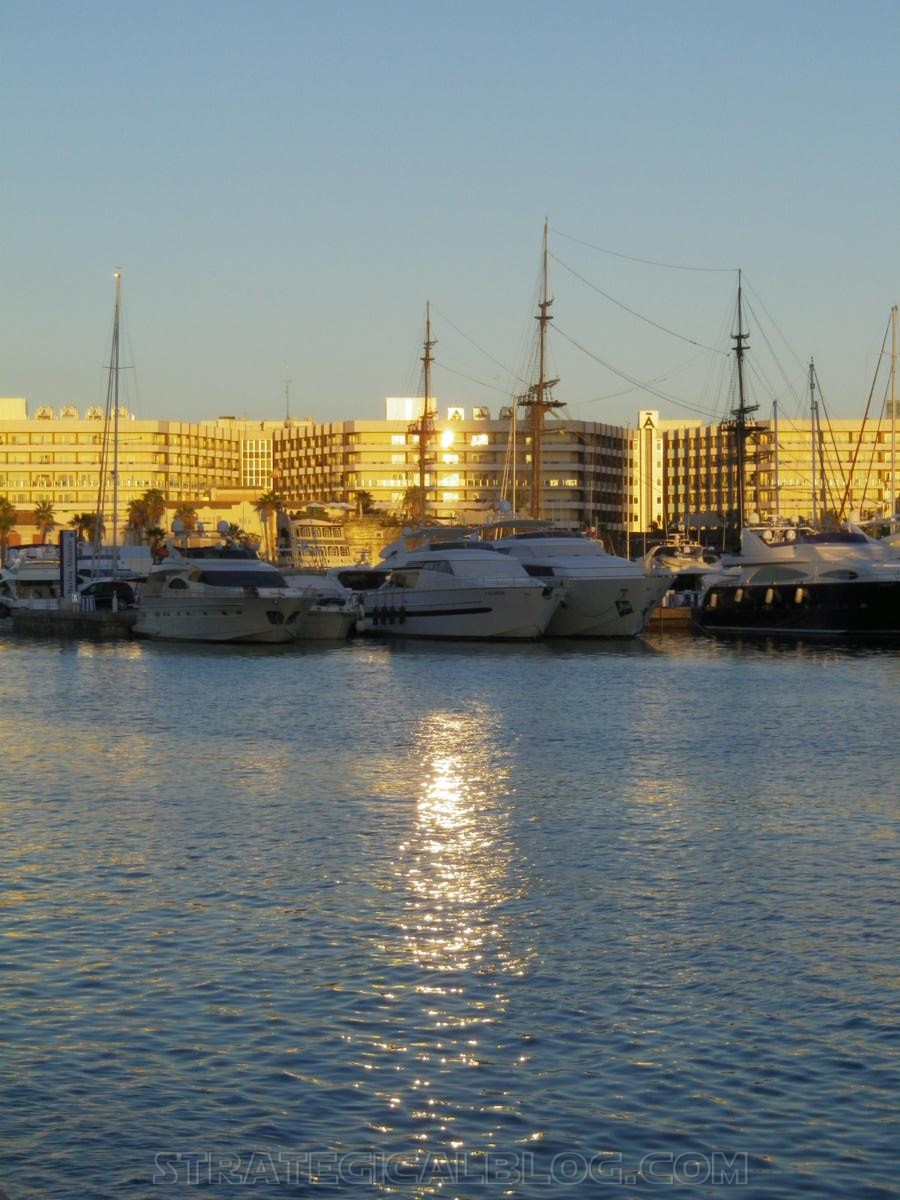 alicante marina sunset strateigcalblog