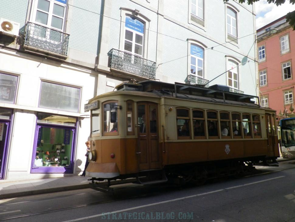 photo old porto tramway