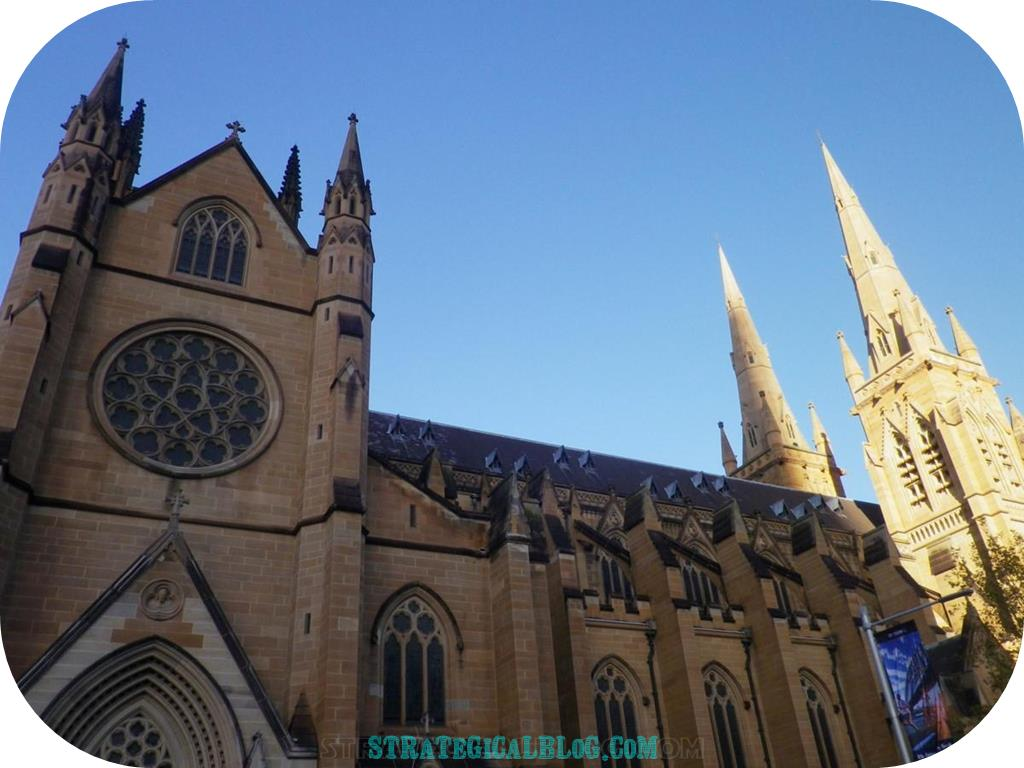 10 places to see in sydney australia st mary cathedral